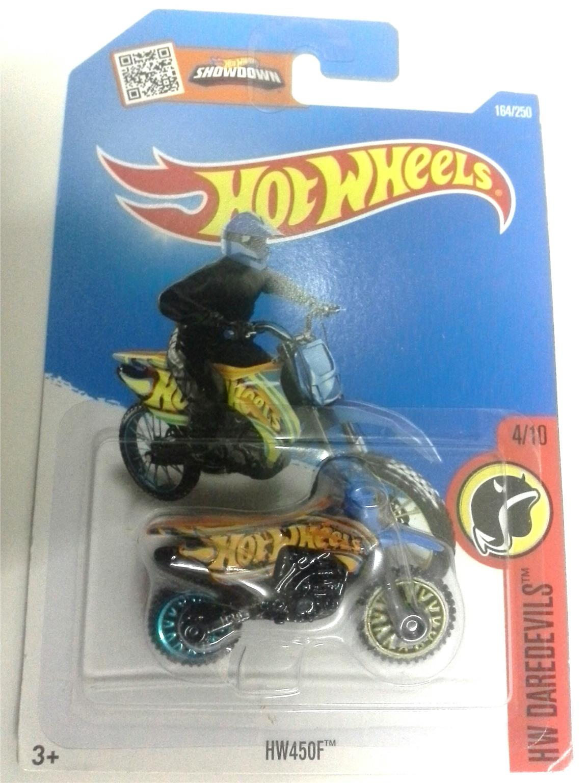 2016 Hot Wheels 450 F MOTOCROSS BLUE