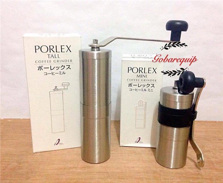 PORLEX CERAMIC COFFEE MILL Tall Hand Grinder from Japan