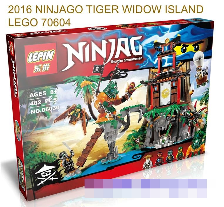 2016 NINJAGO TIGER WIDOW ISLAND 70604 LEGO COMPATIBLE BRICK