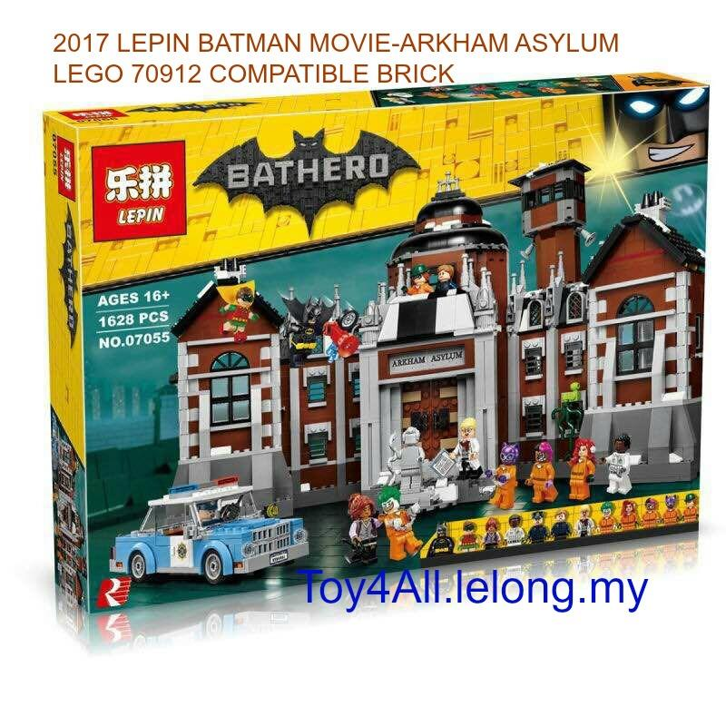 2017 batman movie arkham asylum lego end 4 5 2019 5 50 pm for Cost of building blocks in jamaica 2017