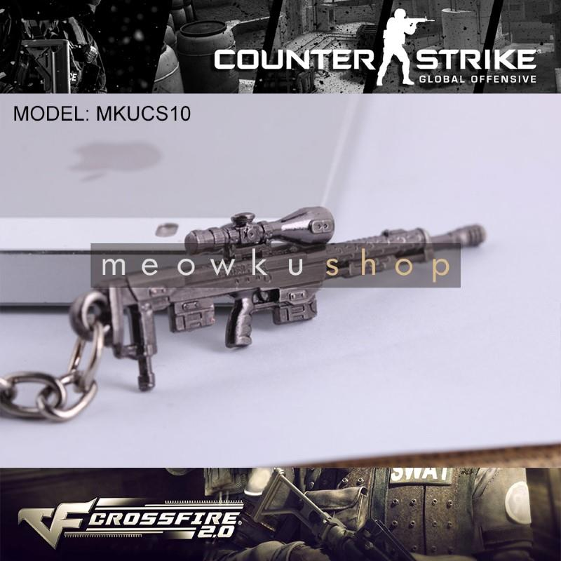 NEW 2017 DSR-1 CSGO Counter-Strike CS CF2 CrossFire Metal Keychain
