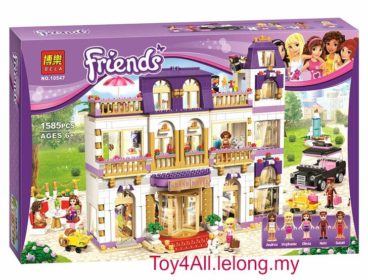 Lego Friends Grand Hotel Price
