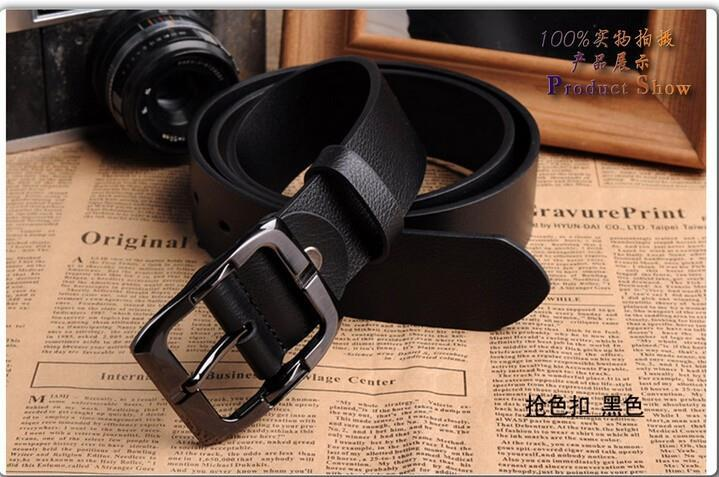 2017 Hot Mens Black Designer Leather Belts (Ship with Pos Laju)
