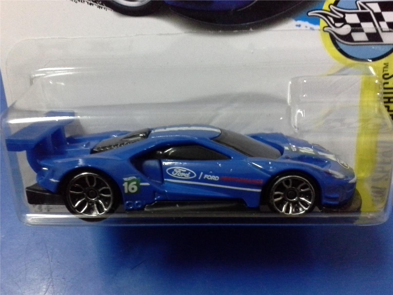 Hot Wheels  Ford Gt Race Blue
