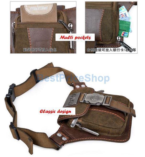 2017 Korean Style Casual Waist Bag Messenger Shoulder HL001 Hot Sales