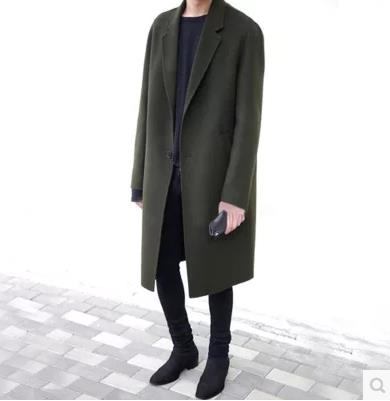 2017 Korean Style Men Winter Long Ja (end 3/25/2019 1:15 PM)
