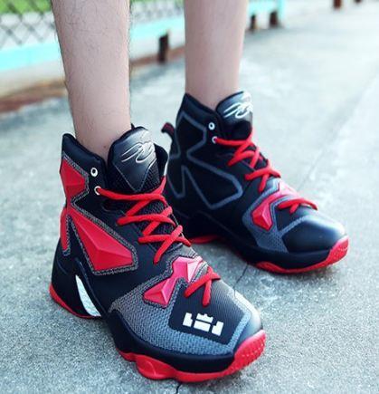 2017 Man s Air Cushion Sports Lebron James Basketball Shoes Women dd890064d