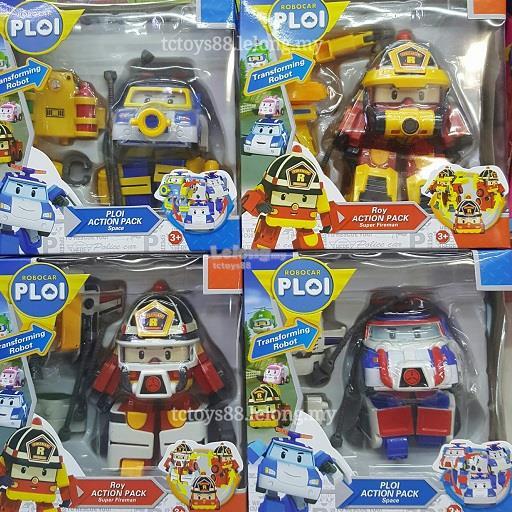 Robocar POLI Action Pack Deformation robot. Transformer Toy