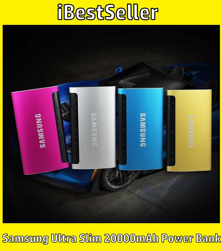 2017 Samsung Ultra Slim 20000mAh Power Bank 4 Colors Available