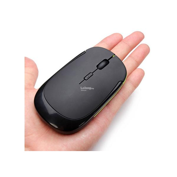 2017 Smooth Hand Feeling Mini Wireless Optical Mouse