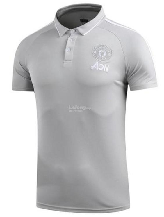 0449854a 2018 Man Utd Manchester United polo t (end 8/9/2019 1:15 PM)