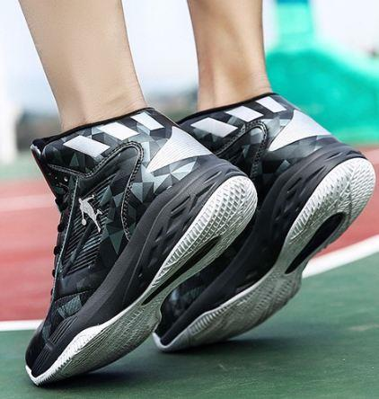 Top Rated Basketball Shoes 2020.2018 New Men Fashion Basketball Shoes High Top Lace Up Sport Shoes