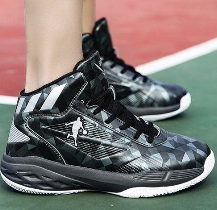56caeb7b95d30 2018 New Men Fashion Basketball Shoes High Top Lace-Up Sport Shoes