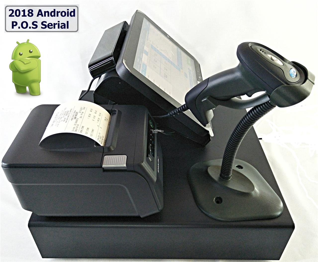 "2018 POS System Promo Set - Android 12"" AIO Touch POS System Hardware"