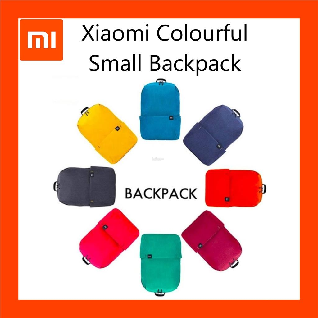 2018 New Xiaomi Colorful Mini Backpa (end 8 14 2019 5 15 PM) fb51ff02fc