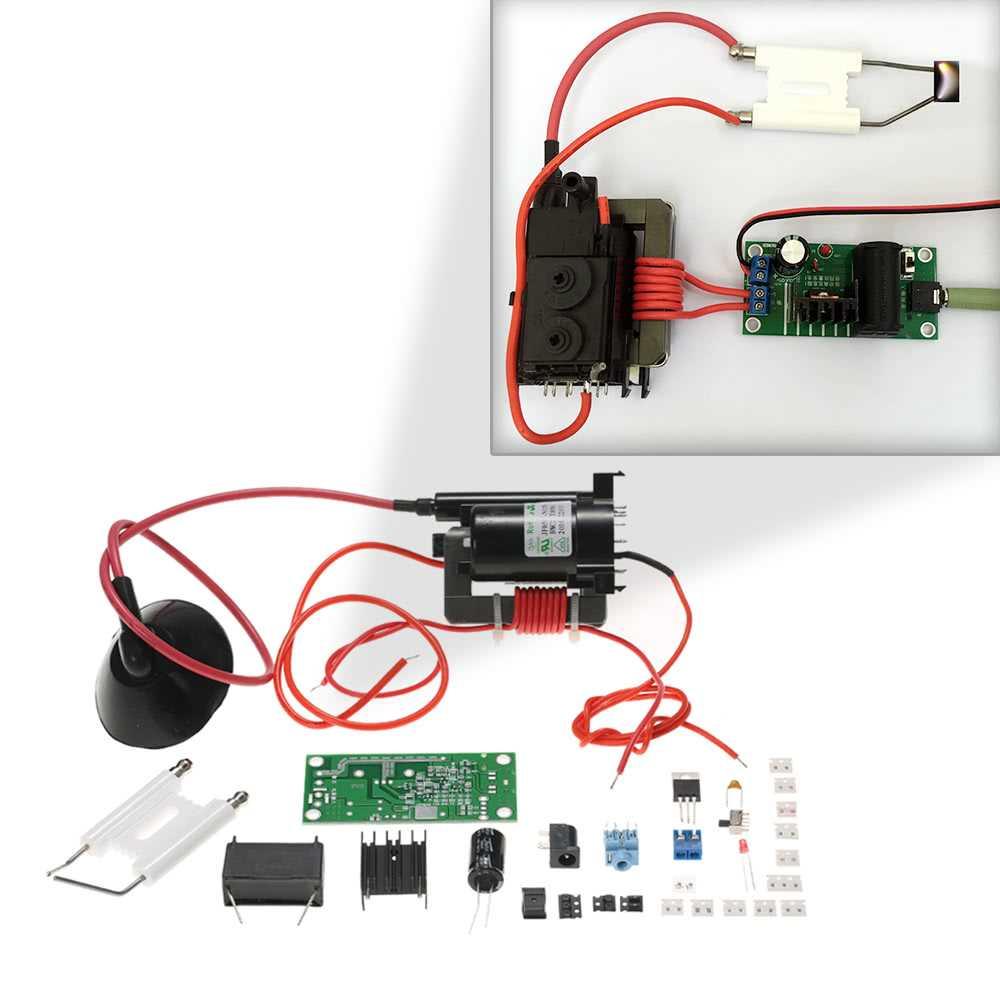 20KV ZVS Tesla Coil Booster High Voltage Generator