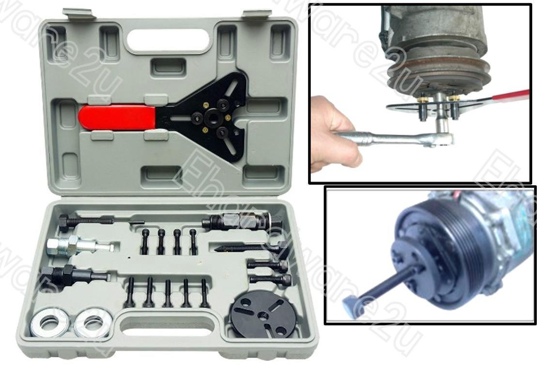 20PCS CAR A/C COMPRESSOR CLUTCH HUB REPAIR TOOL KIT (1551-20)