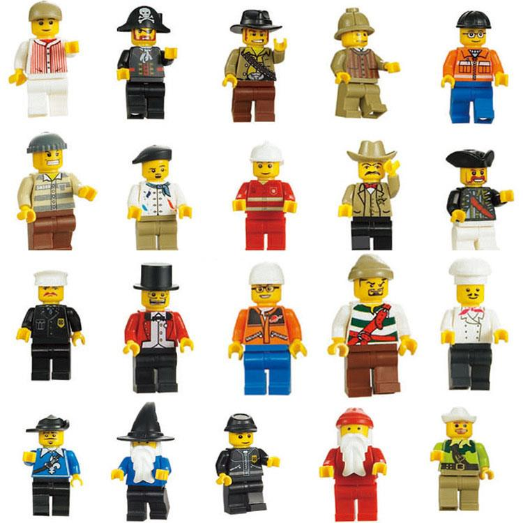 20pcs Different Minifigures Building Blocks LEGO Compatible Brick