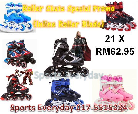 21 X Roller Skate Bulk Order Inline Roller Blade Kasut Roda Promosion b8c3c1a8cb