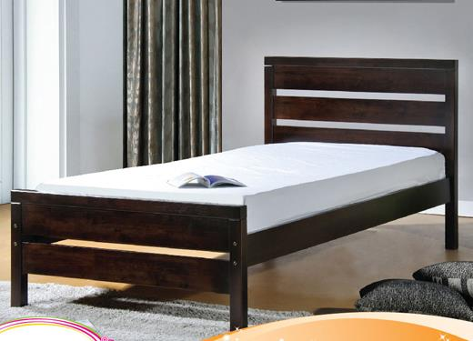 213 Wooden Single Bed