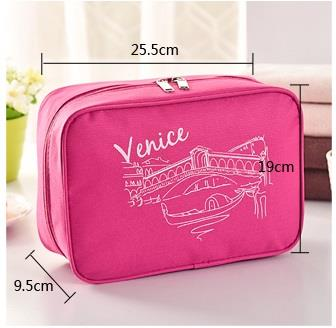 215 - Venice Travel Waterproof Toiletry Bag / Pouch