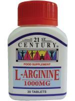 21st Century L-Arginine 1000mg 30s. ‹ ›