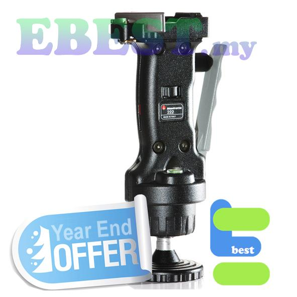 222RC2 Grip Ball Head, ergonomic handle and friction control wheel-YES