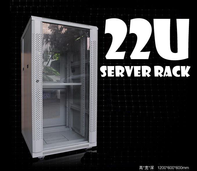 22u Server rack c/w PDU u0026 Fan ... & 22u Server rack c/w PDU u0026 Fan (New) (end 9/21/2018 10:24 PM)