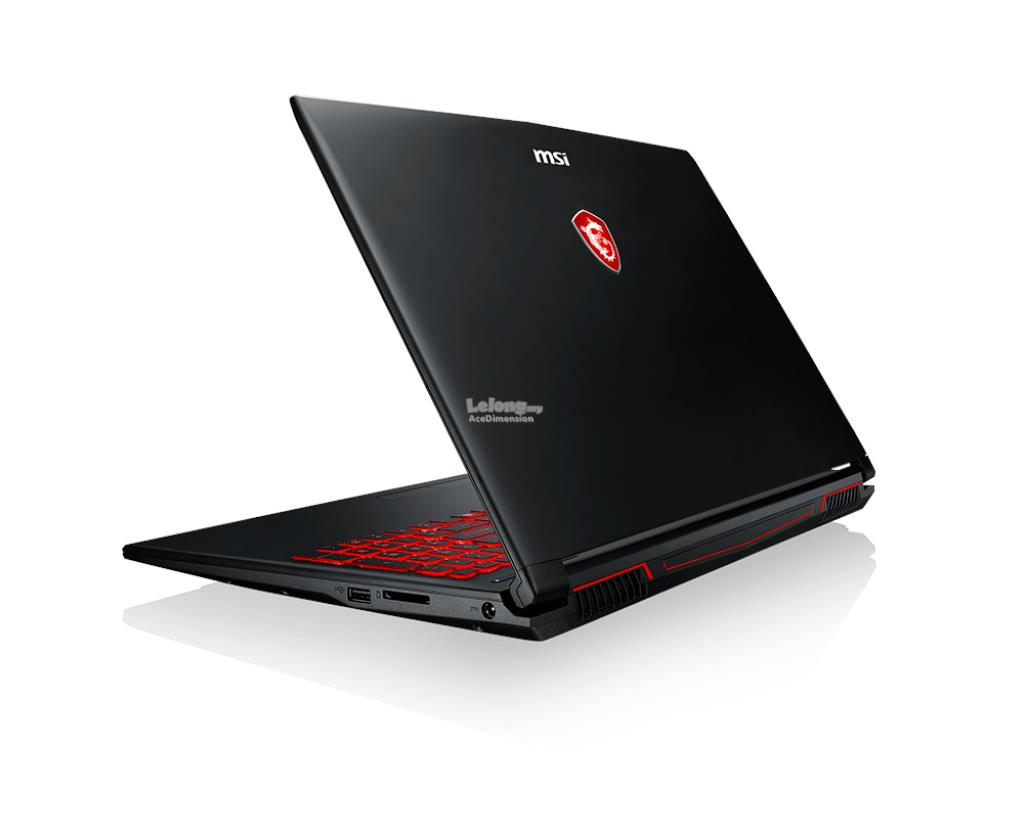 [23-Jul] MSI GL62M 7RDX-2605MY Gaming Series Notebook