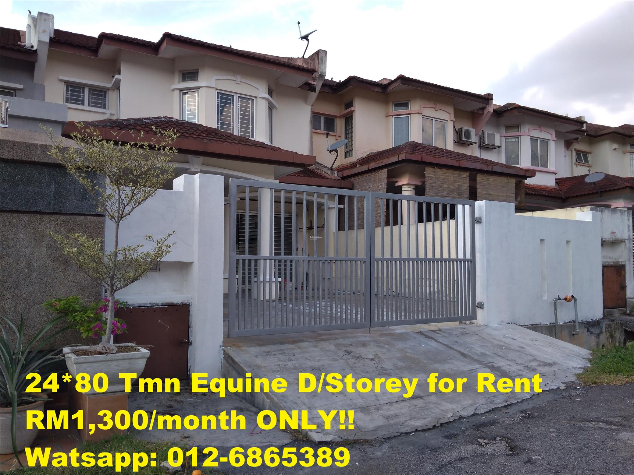 24*80 Double Storey to let (Jln LP 3/8)