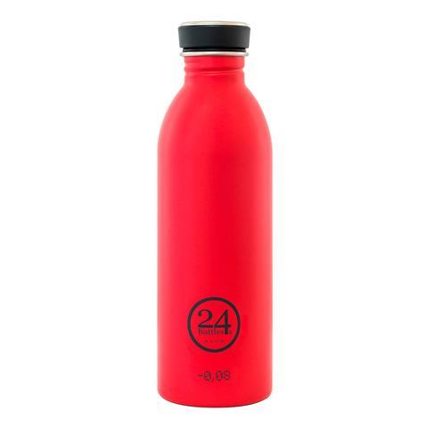 24 BOTTLES URBAN BOTTLE 0.5L - HOT RED