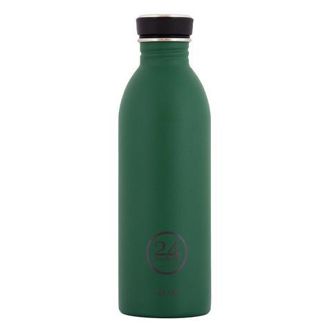 24 BOTTLES URBAN BOTTLE STONE FINISH 0.5L – JUNGLE GREEN