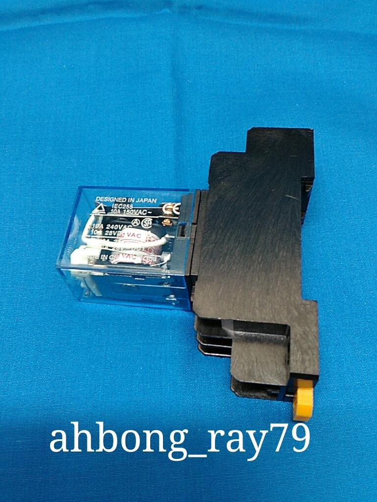 240v 10a Power Relay Dpdt Ly2nj Hh6 End 12 20 2019 615 Am Electrical Hh62p Hhc68a 2z With Socket Base