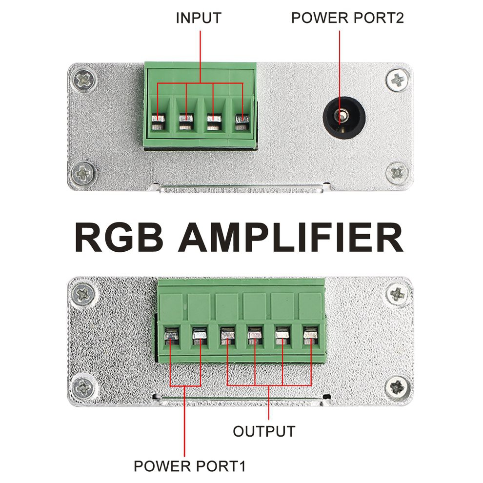 24a Amplifier Repeater For Extend Signal LED 5050 3528 RGB Strip Light