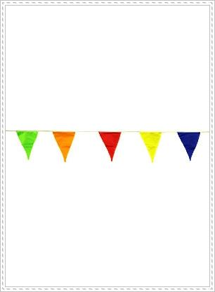 24ft colorful flag line pennant st end 7 4 2018 10 15 am