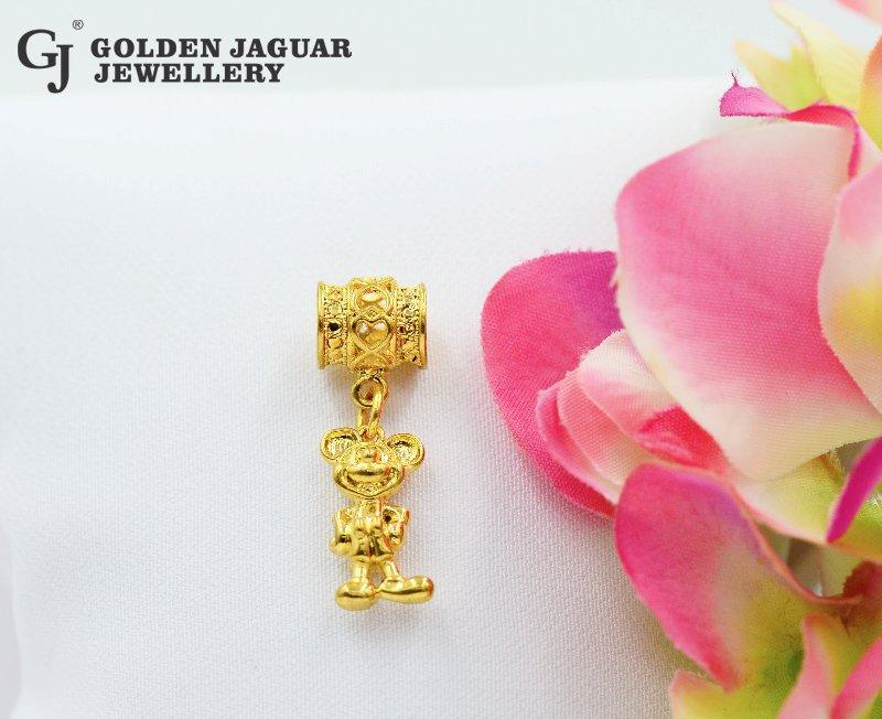 24K Emas Korea , Golden Jaguar24K Gold Plated PDR (Charm24)