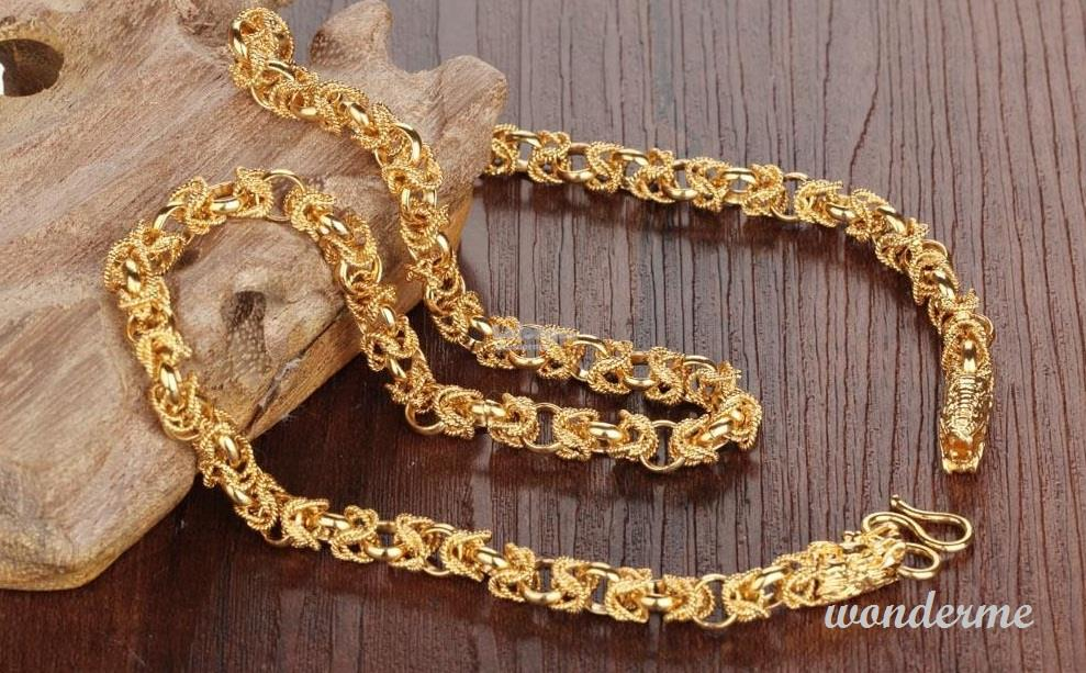 24K Real Gold Plated Men or Women Ne (end 5/18/2018 9:15 AM)