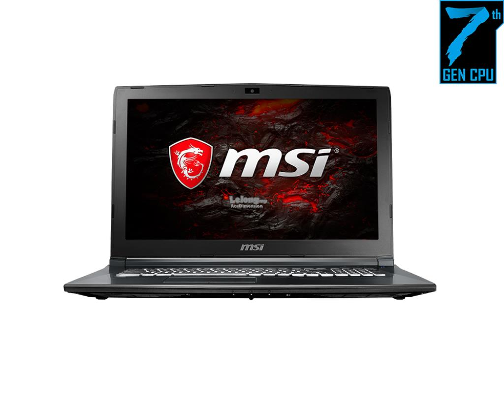 [25-Dec] MSI GL62M 7RDX-2264MY Gaming Laptop *Black*