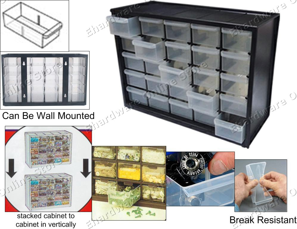 25 Drawers Small Parts Storage Cabin (end 6/24/2015 7:56 AM)