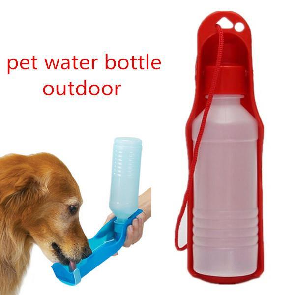 250ml Foldable Pet Dog Water Bottle Outdoor Travel: 250ml Foldable Pet Dog Cat Water Dr (end 11/15/2019 1:15 PM