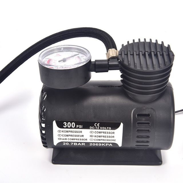 250PSI C300 12V Portable Air Compressor Pump Auto Car Electric Tire Inflator
