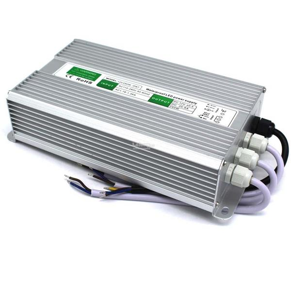 250W DC 12V AC 170-264 50Hz Waterproof Power Supply For LED Strip Ligh