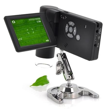 250x Handheld Microscope with Recording function (WCS-04).