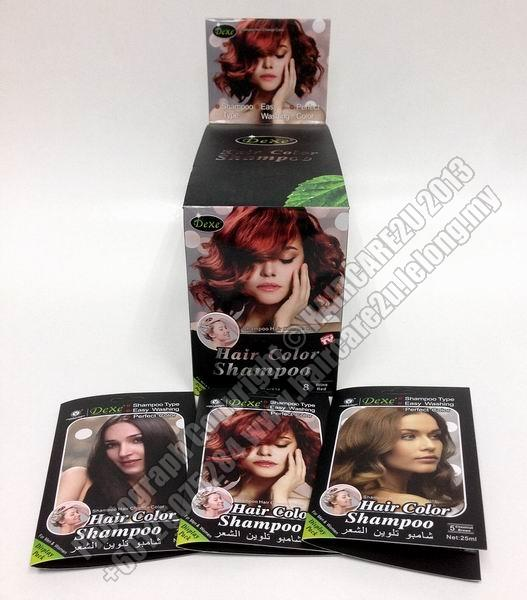 25ml Dexe Herbal Color Hair Shampoo