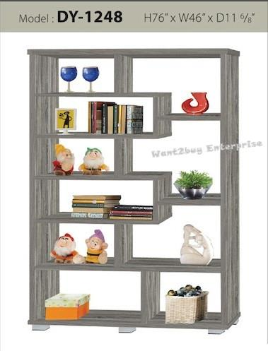 25mm Divider Wardrobe Cabinet Bookshelf Toys Display DY-1248