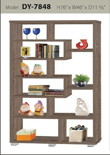 25mm Divider Wardrobe Cabinet Bookshelf Toys Display DY-7848