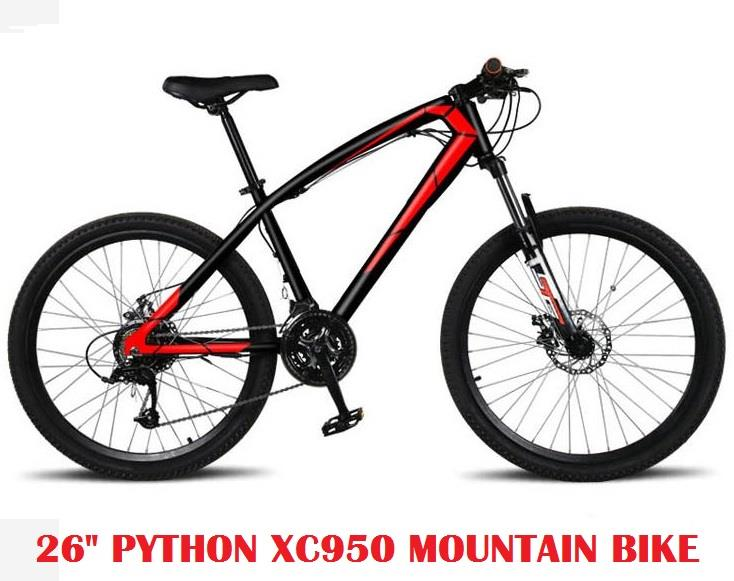 26 Inch Bike Python XC950 Mountain Bicycle 21 Speed