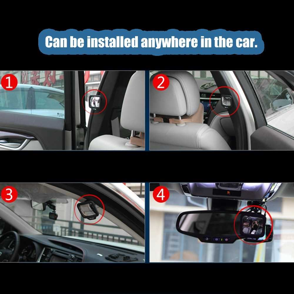 270 Degrees Wide Angle Car Rear Passenger Magnet Mirror Car Auxiliary