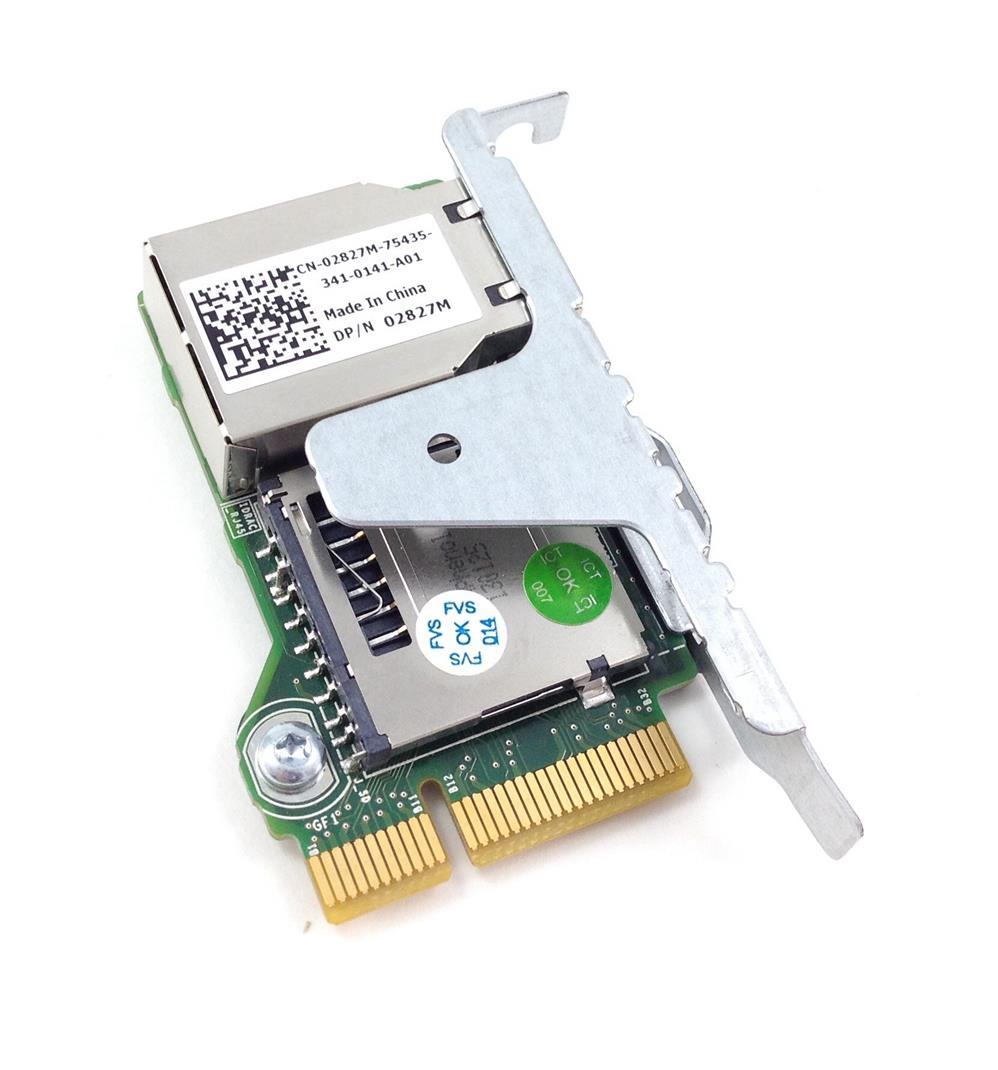 2827M - DELL IDRAC 7 ENTERPRISE REMOTE ACCESS CARD (REF)