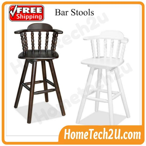 Tremendous 29 Swivel Wooden Bar Stool With Backrest Caraccident5 Cool Chair Designs And Ideas Caraccident5Info